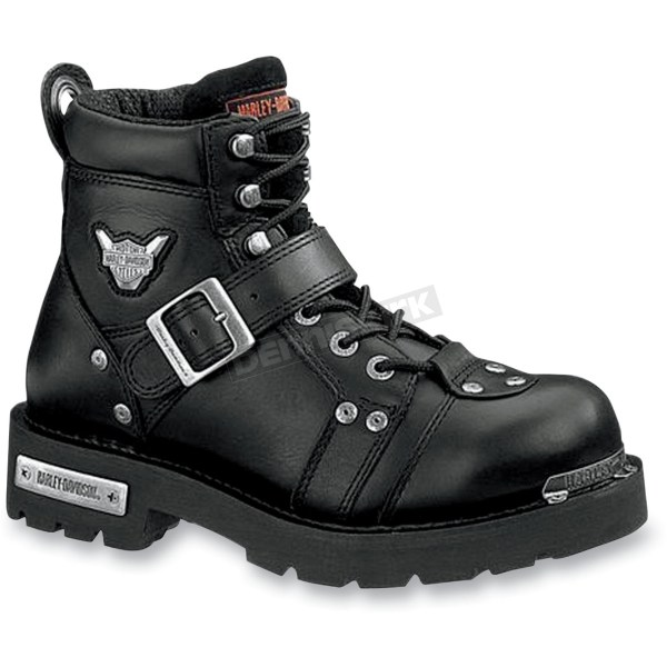 Harley-davidson Brake Buckle Steel-toe Boots