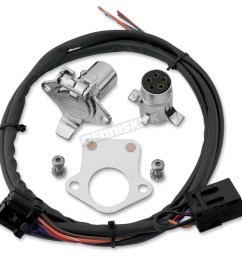 khrome werks 5 pin connector kit w wiring harness 720585 [ 1200 x 1200 Pixel ]