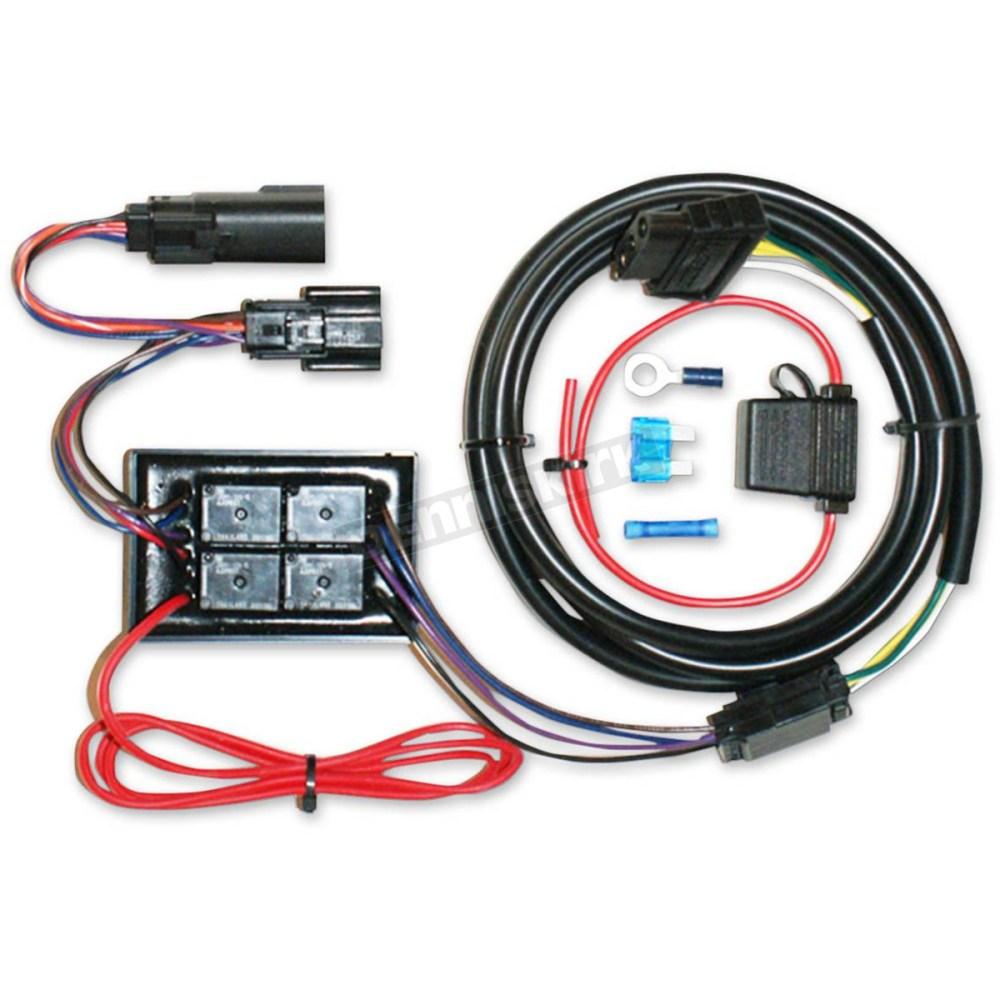 medium resolution of khrome werks plug n play trailer wiring kit 720750