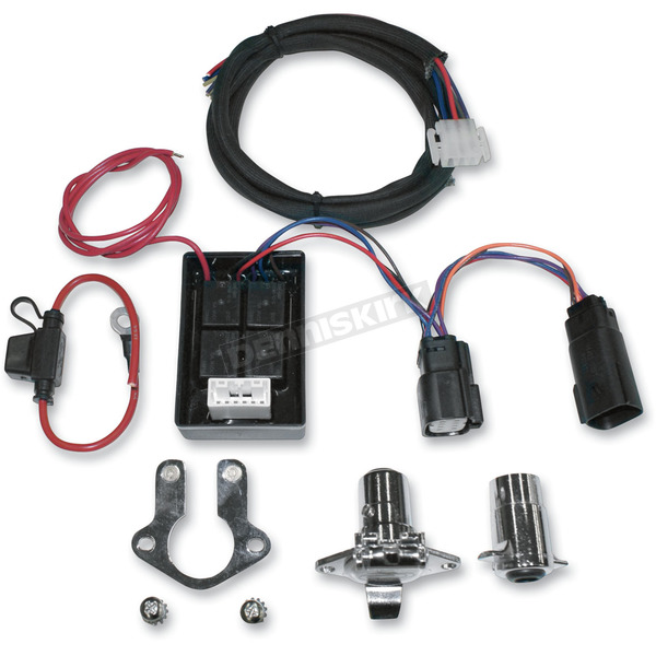 Khrome Werks Plug Play Trailer Wiring Harness Kit For Harley Touring