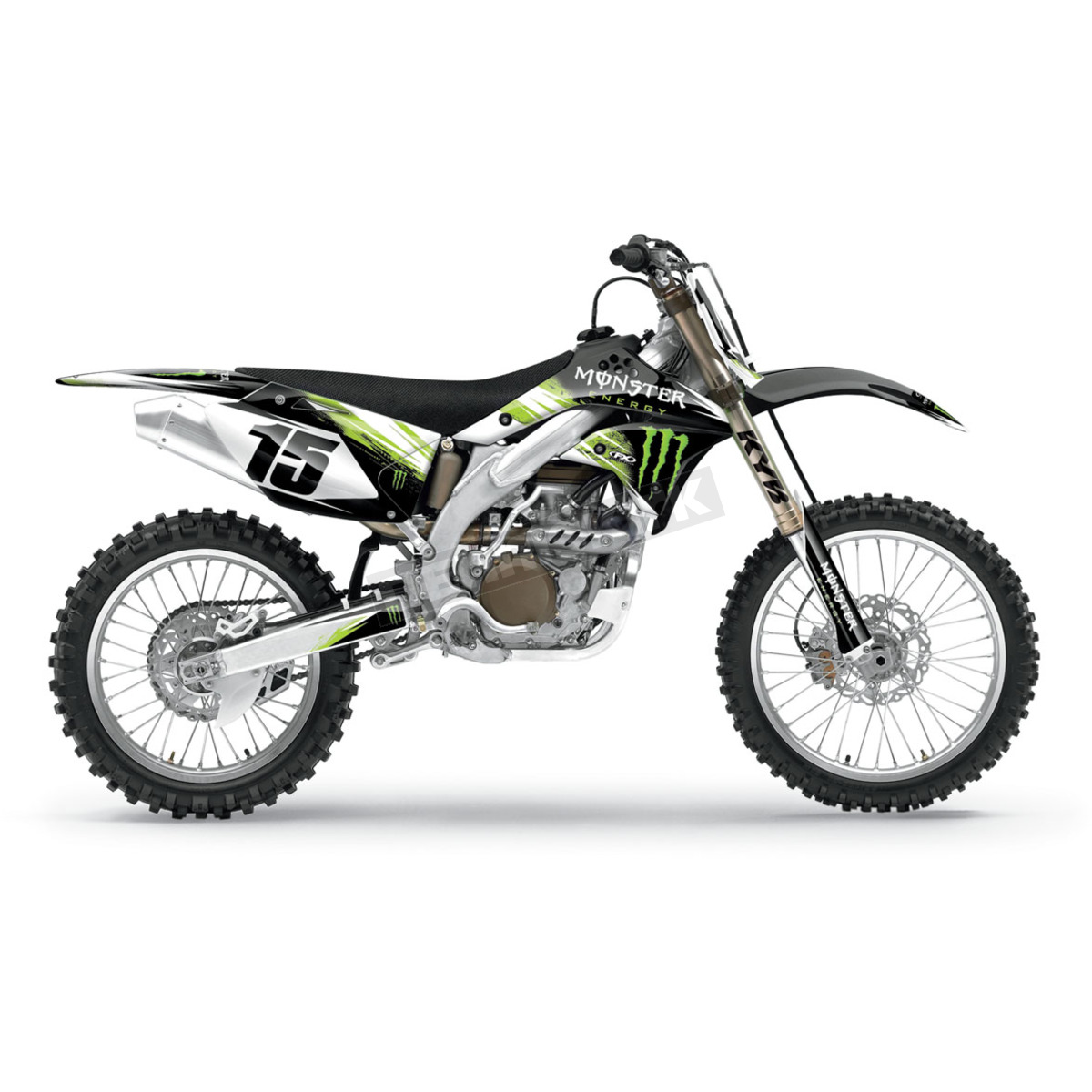 Factory Effex Monster Energy Complete Graphic Kit