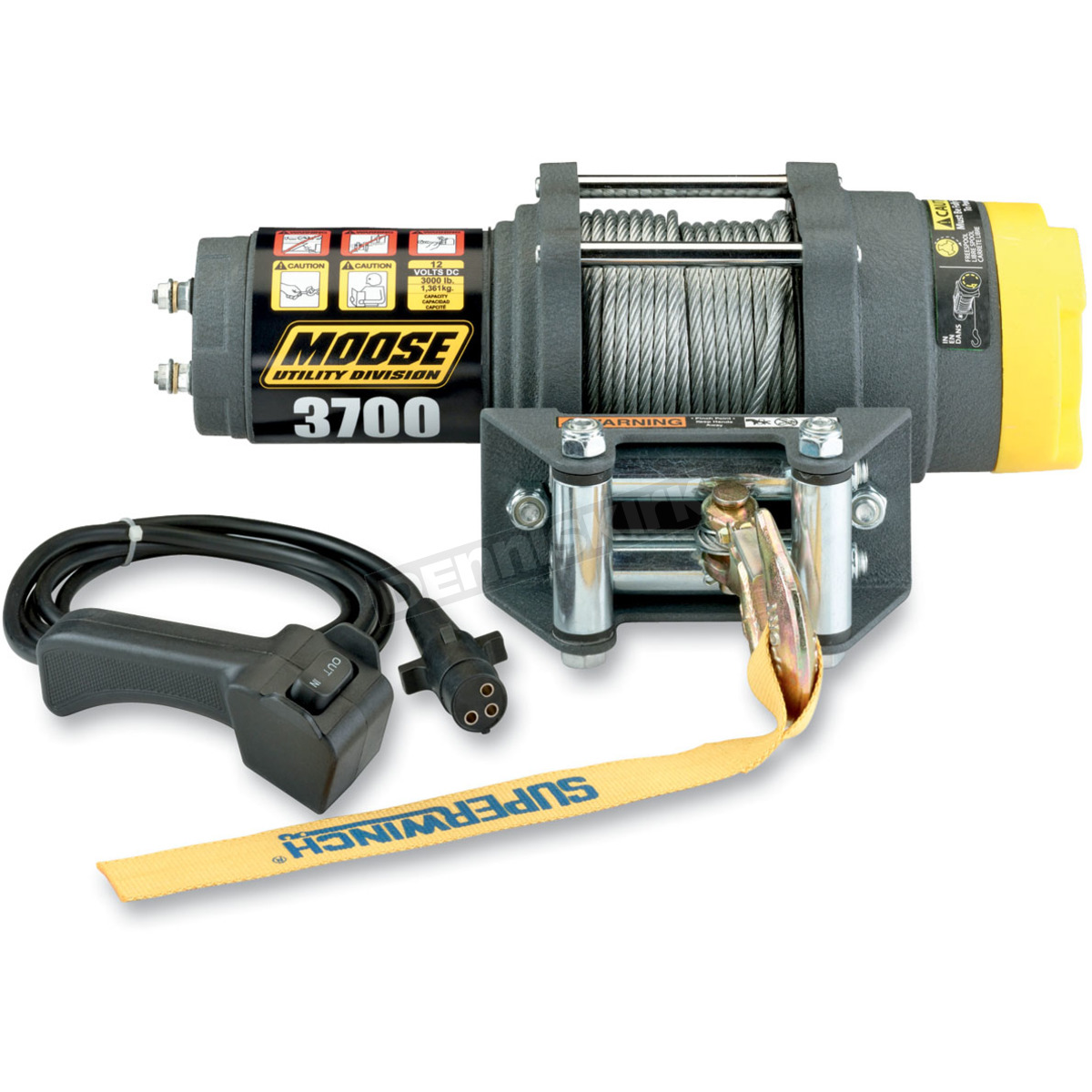 hight resolution of 3 700lb winch with wire rope 4505 0408