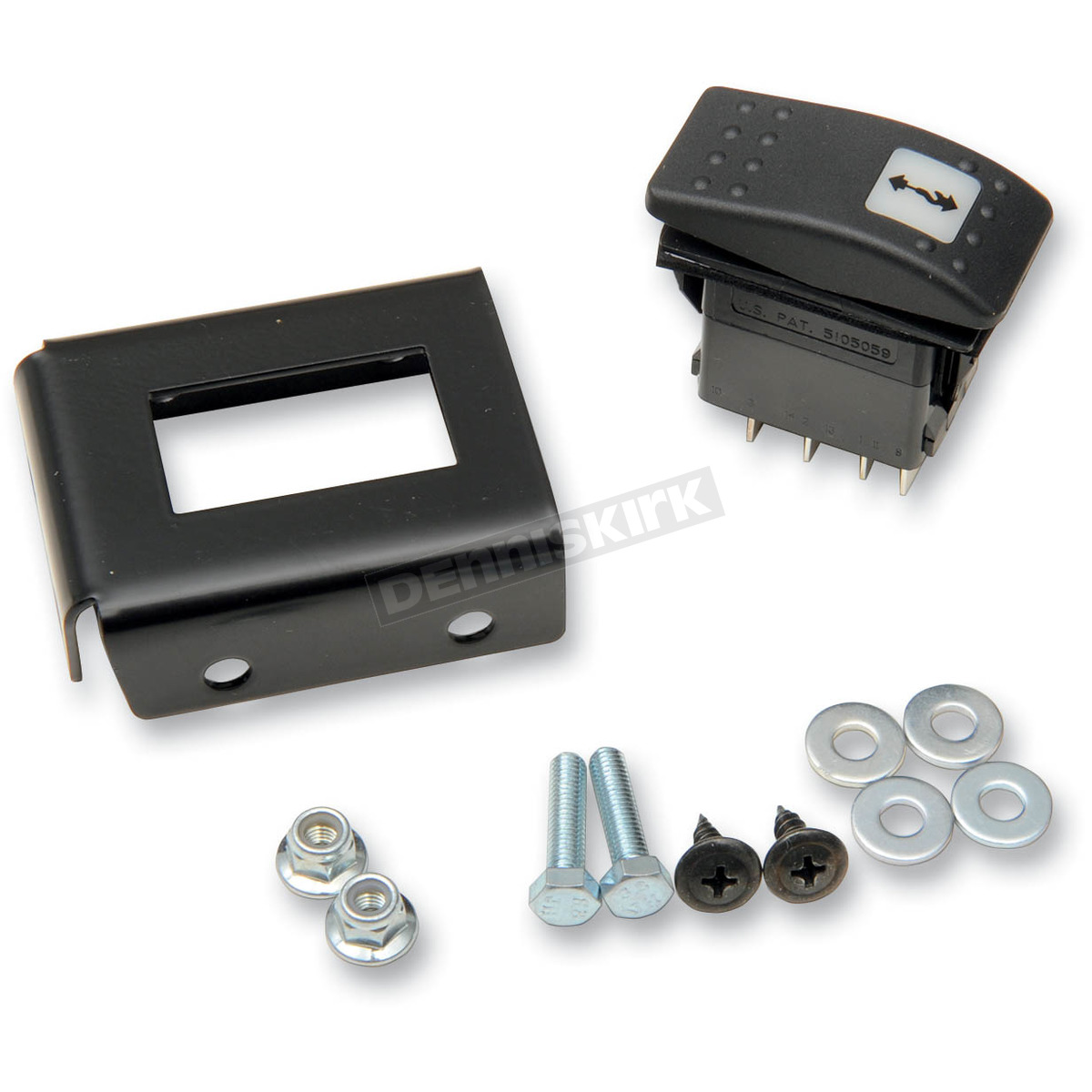 hight resolution of warn replacement switch for 4500lb winch 89540
