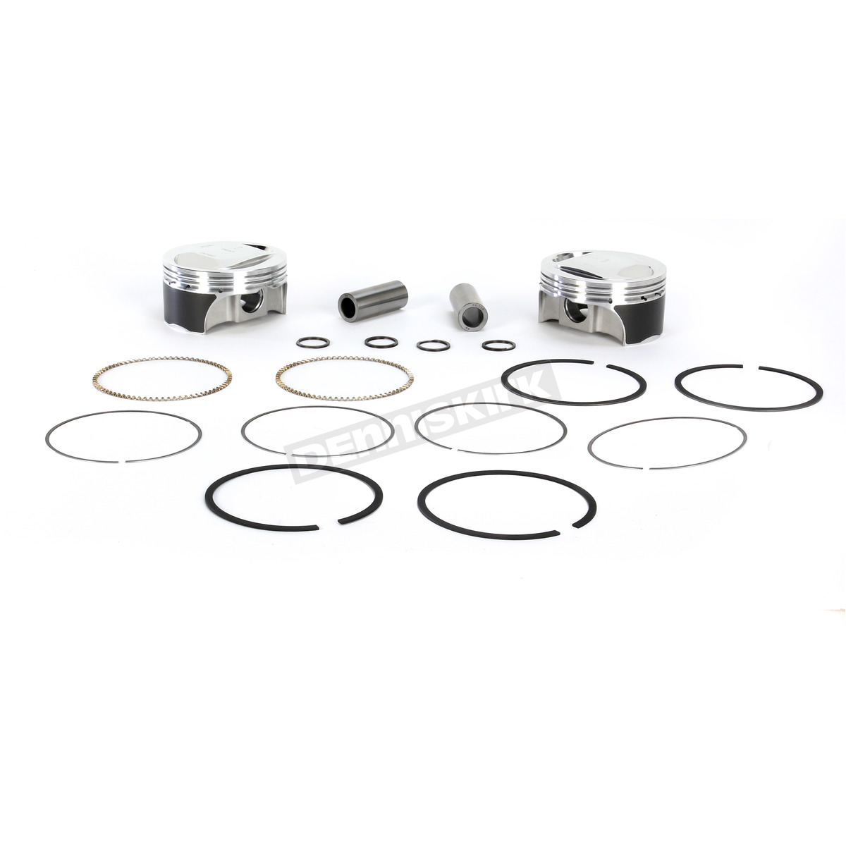KB Performance Forged Piston Kit For Twin Cam w/Screamin