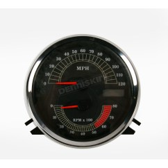Harley Tach Wiring Diagram System Sensor 2351e Smoke Detector Drag Specialties Tachometer 42