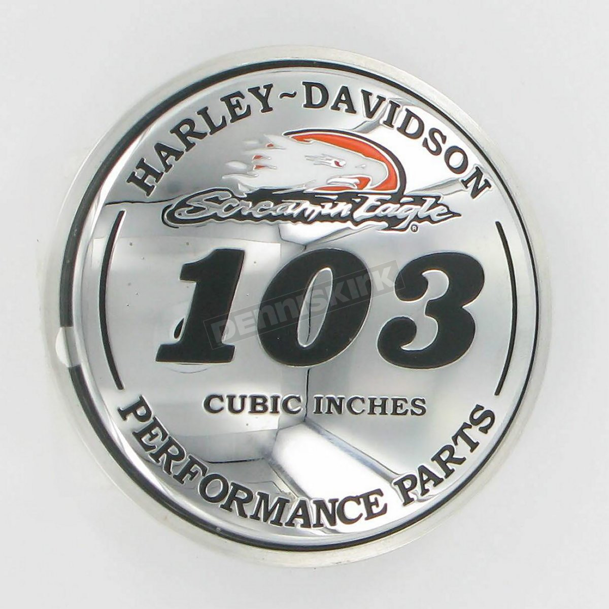 Davidson Medallions Screaming Harley Eagle