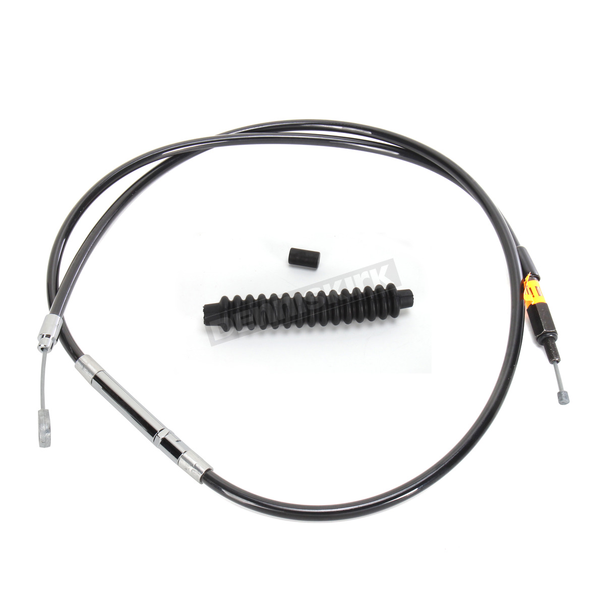 LA Choppers Black Vinyl Coated Clutch Cable for Use w/15