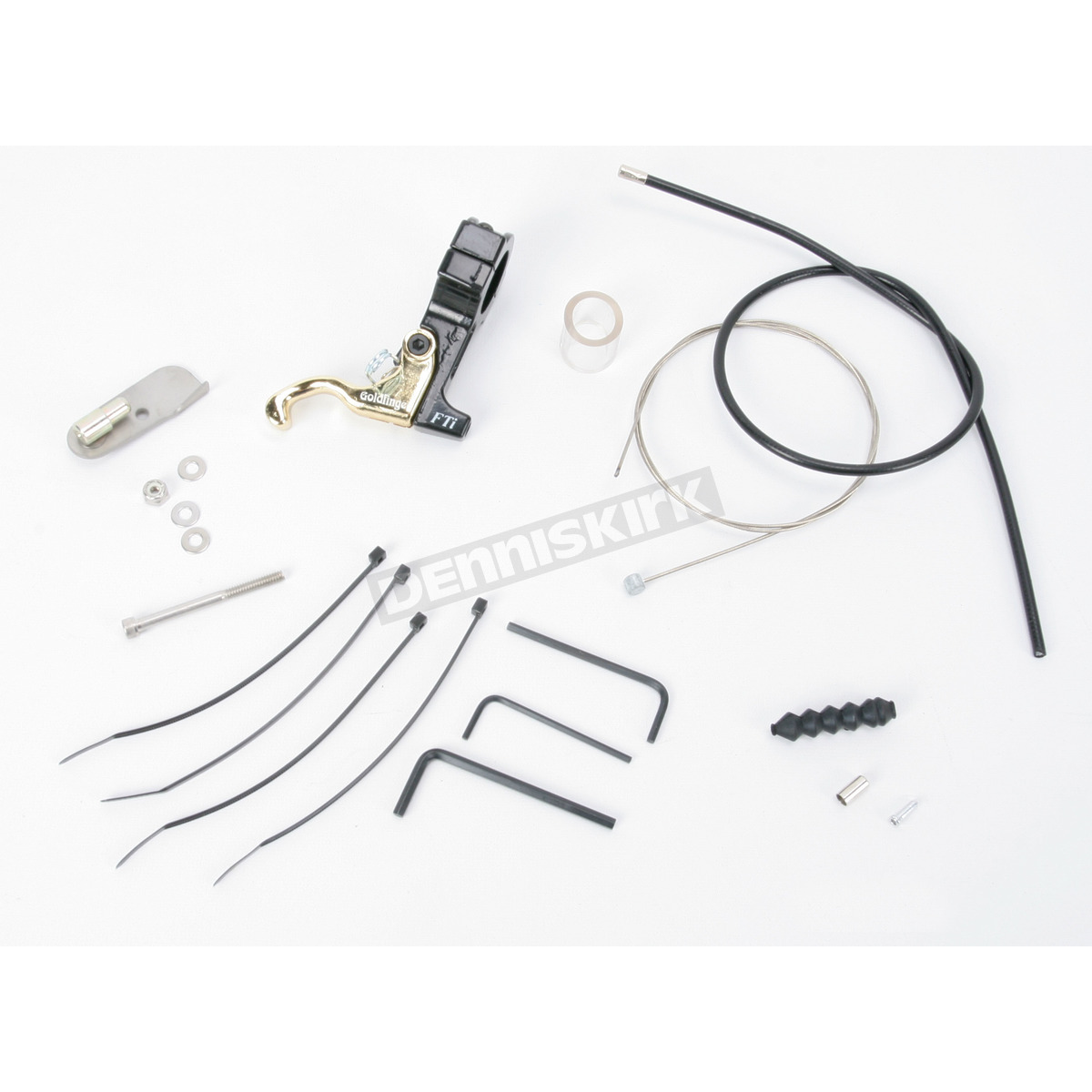 Full Throttle Inc. Goldfinger Left Hand Throttle Kit for