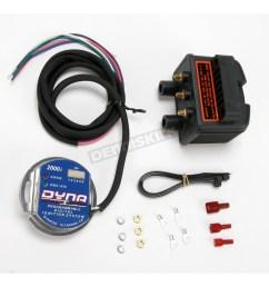 2000i single plug single fire electronic ignition kit d2ki 5p [ 1200 x 1200 Pixel ]