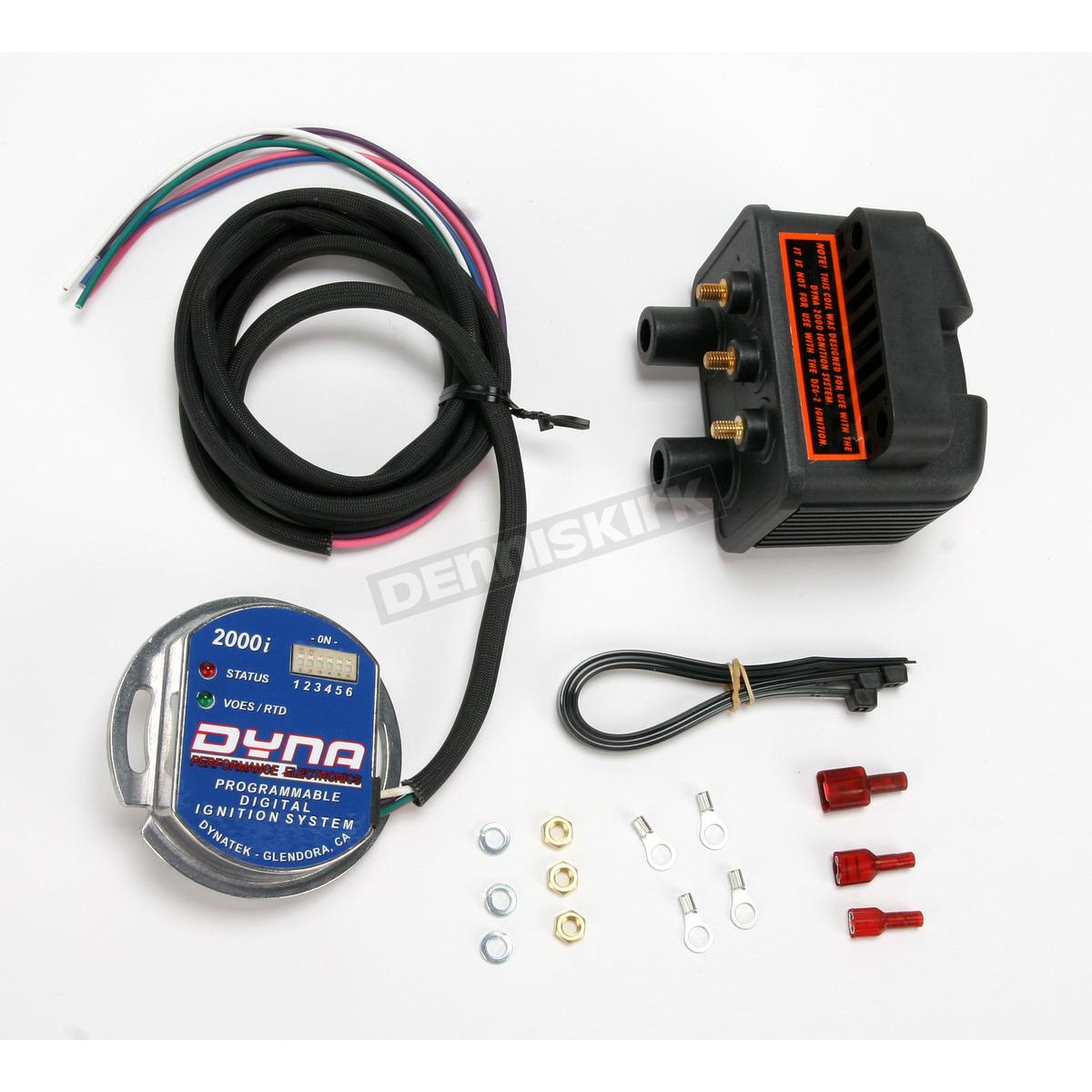 hight resolution of 2000i single plug single fire electronic ignition kit d2ki 5p