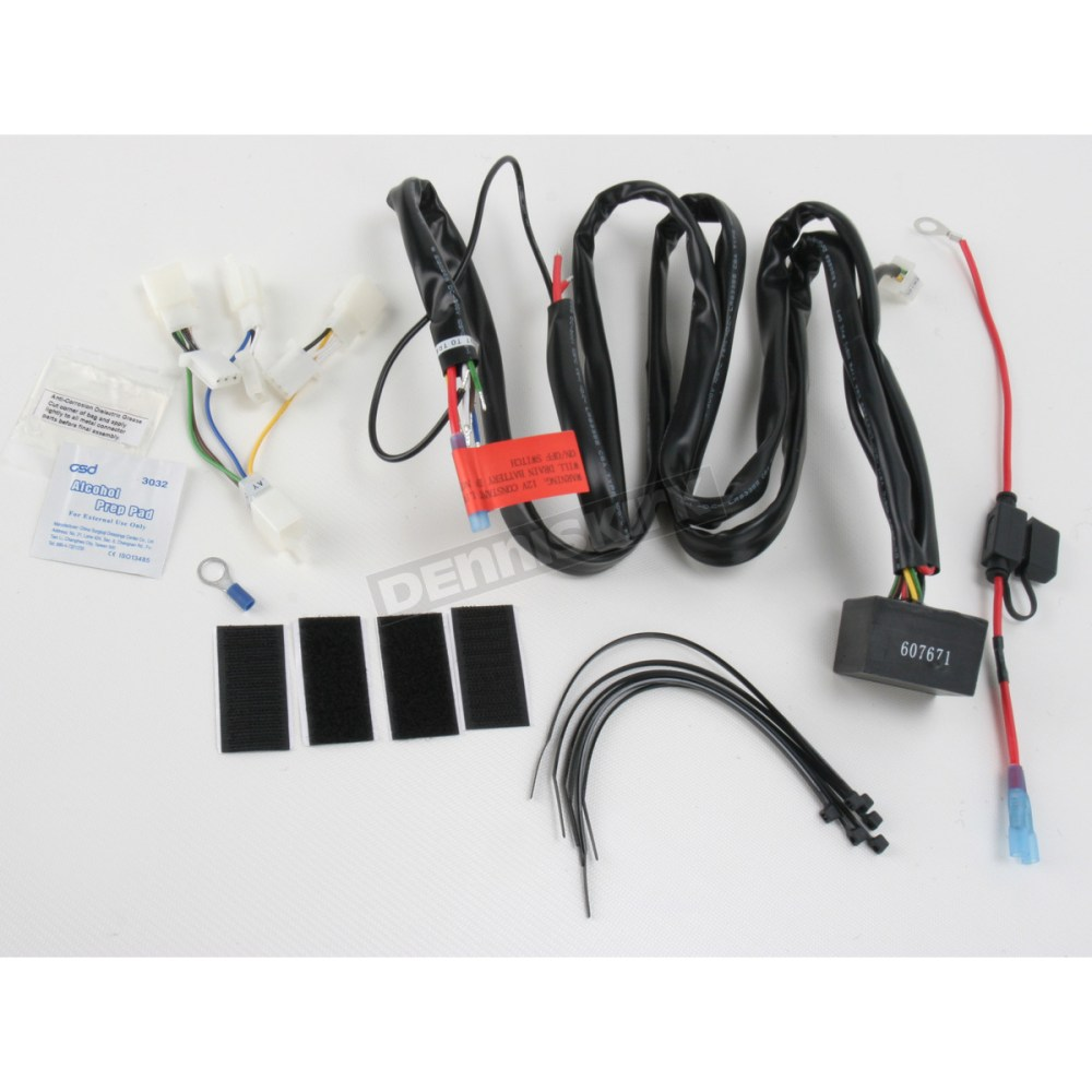 medium resolution of kuryakyn plug and play trailer wiring relay 7673