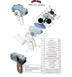love jugs polished stainless vibration master mounting kit vm harley davidson motorcycle dennis kirk [ 1200 x 1200 Pixel ]