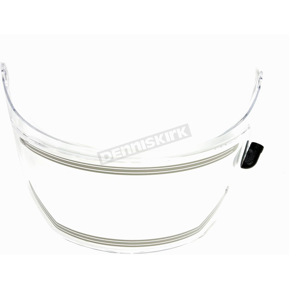 HJC Clear HJ-27 Frameless Electric Shield Kit for DS-X1