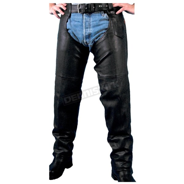 Hot Leathers Unisex Heavyweight Naked Leather Chaps