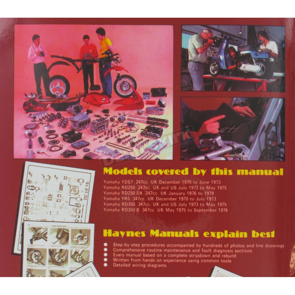hight resolution of  yamaha 250 350 twins repair manual 040