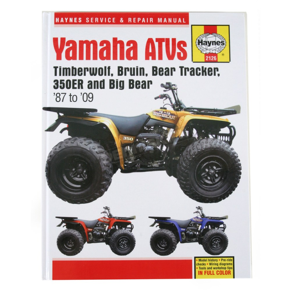 medium resolution of haynes yamaha repair manual 2126