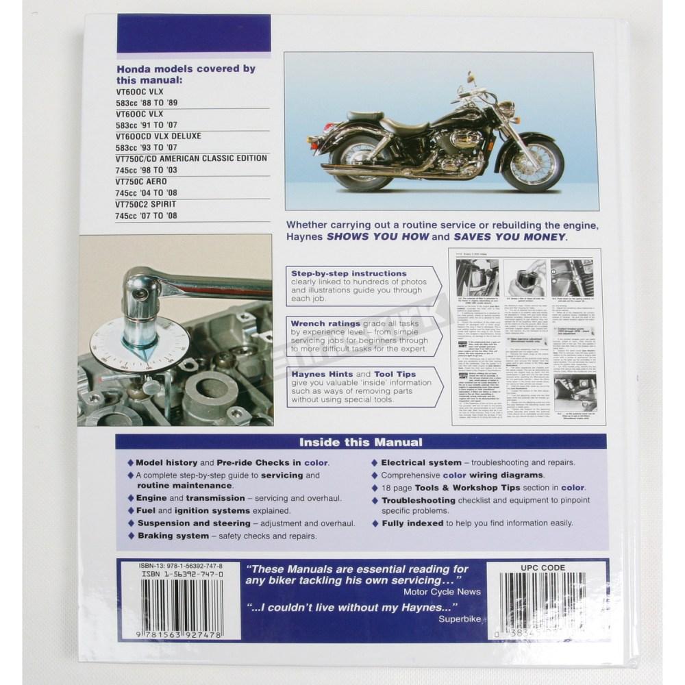 medium resolution of  honda shadow repair manual 2312