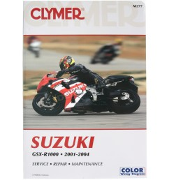 clymer suzuki gsx r1000 repair manual m377 [ 1200 x 1200 Pixel ]