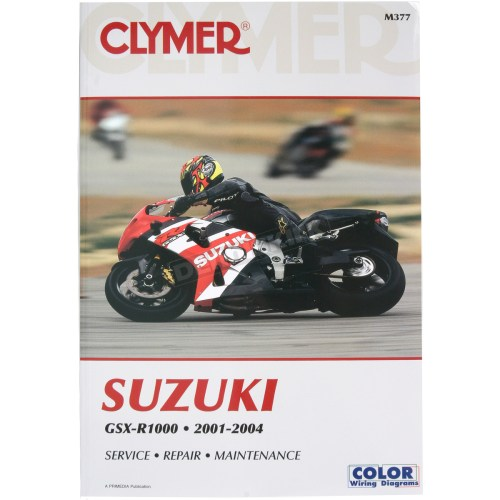small resolution of clymer suzuki gsx r1000 repair manual m377