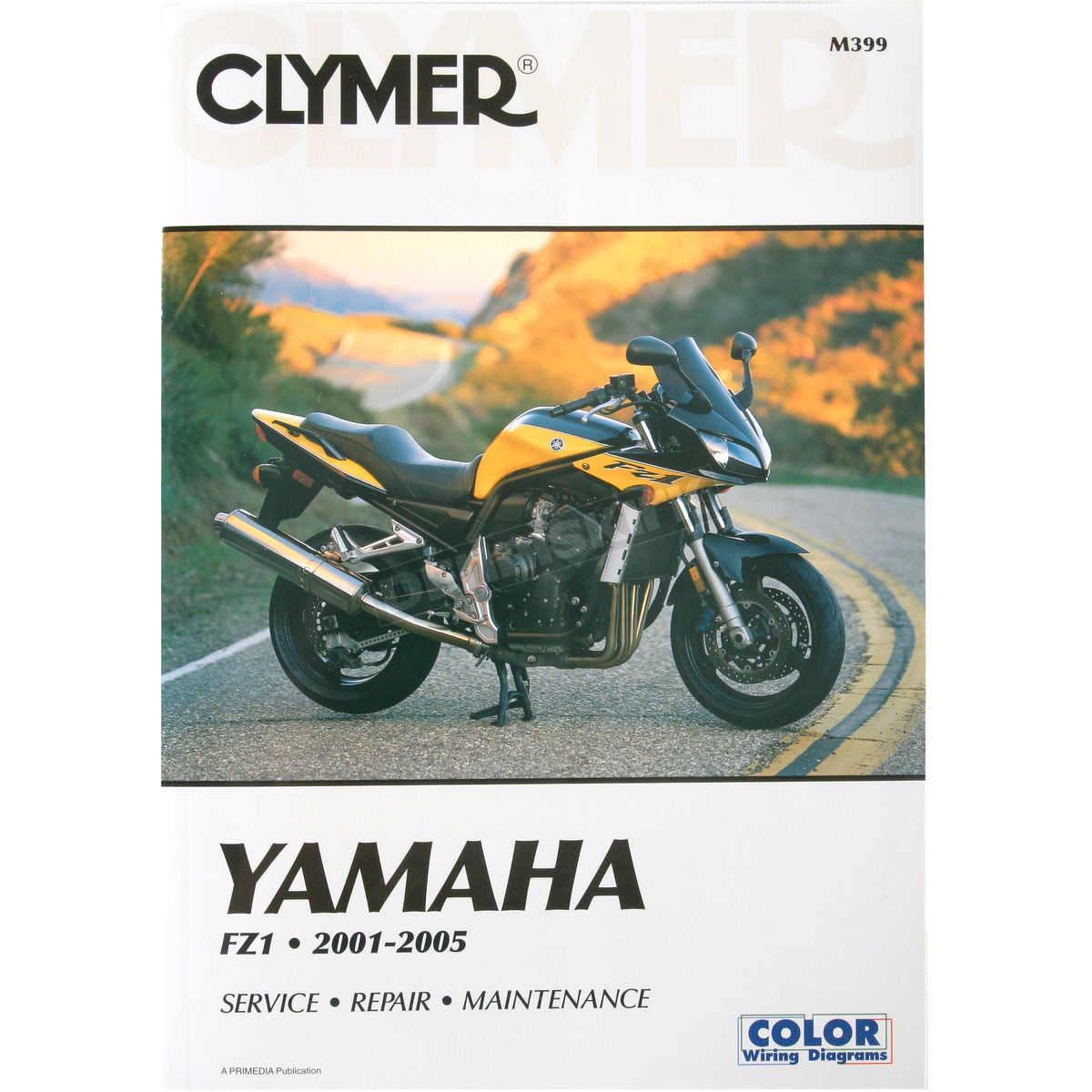 hight resolution of clymer yamaha fz1 repair manual m399