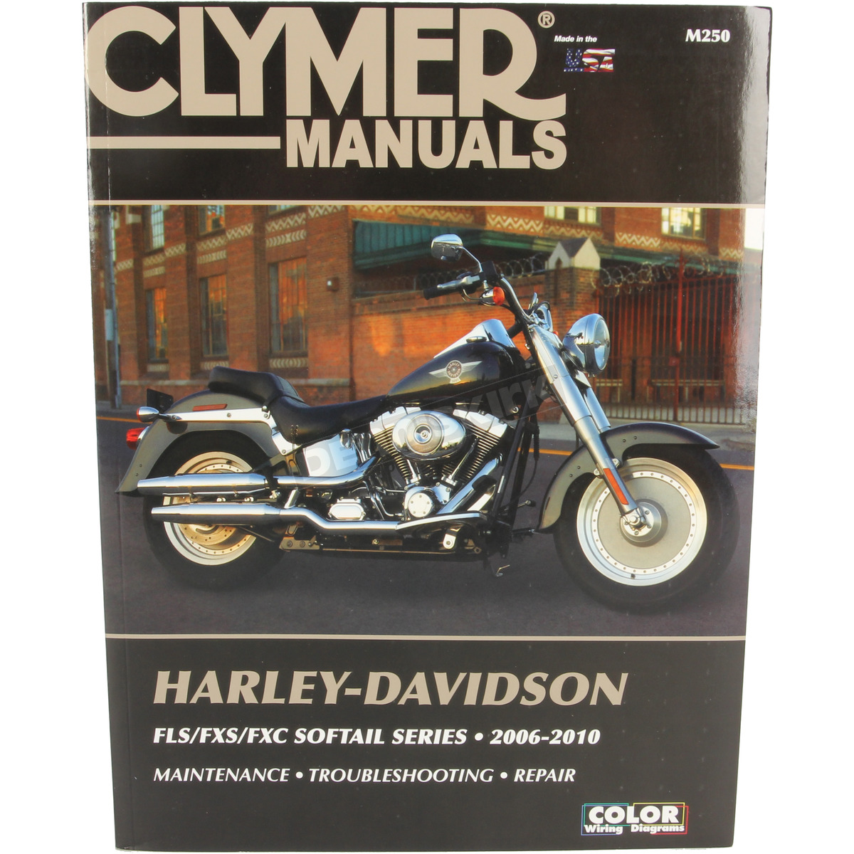 hight resolution of clymer flst fxst fxcw service manual m250