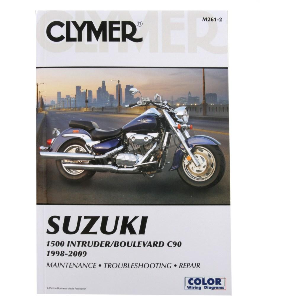 medium resolution of clymer suzuki repair manual m261 2