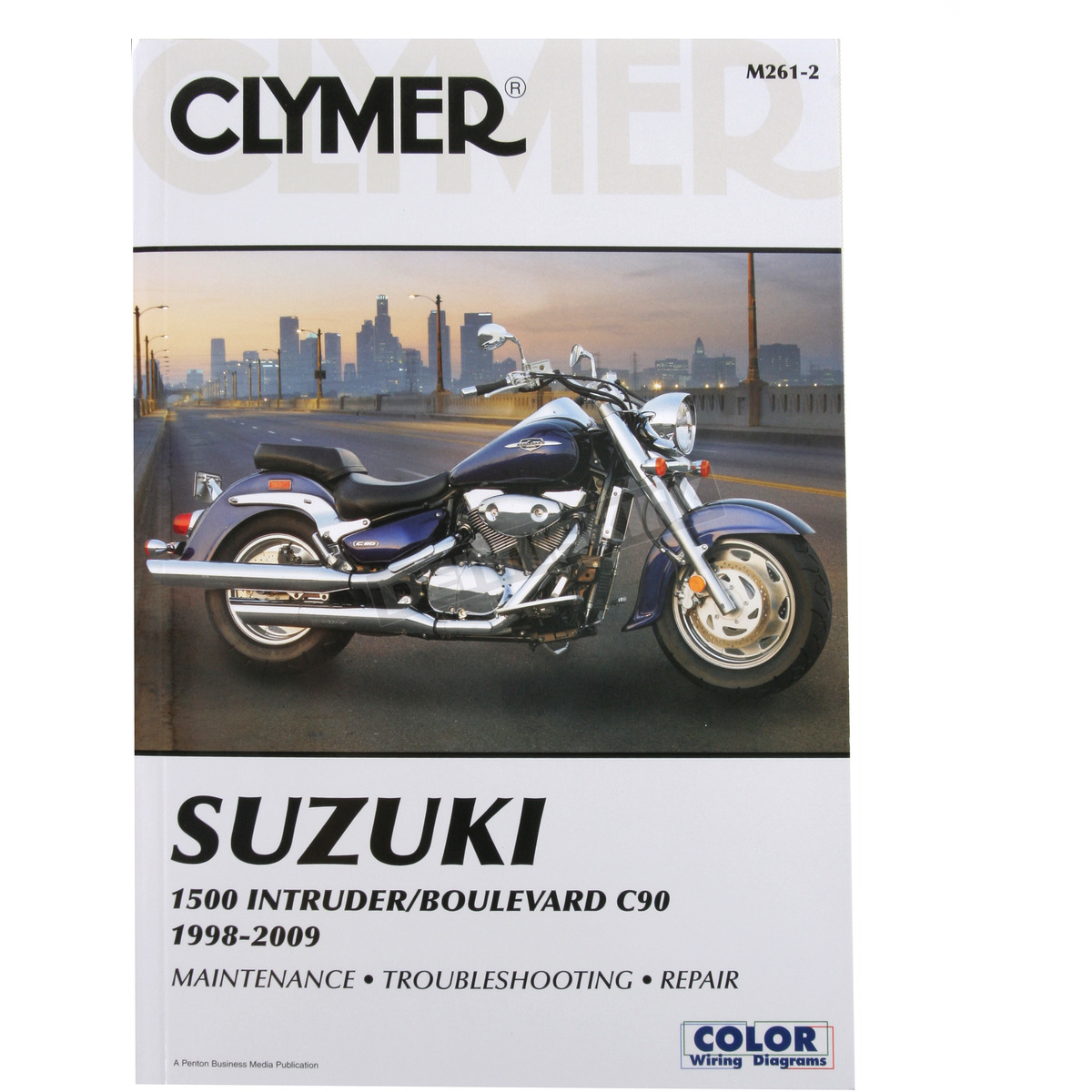 hight resolution of clymer suzuki repair manual m261 2