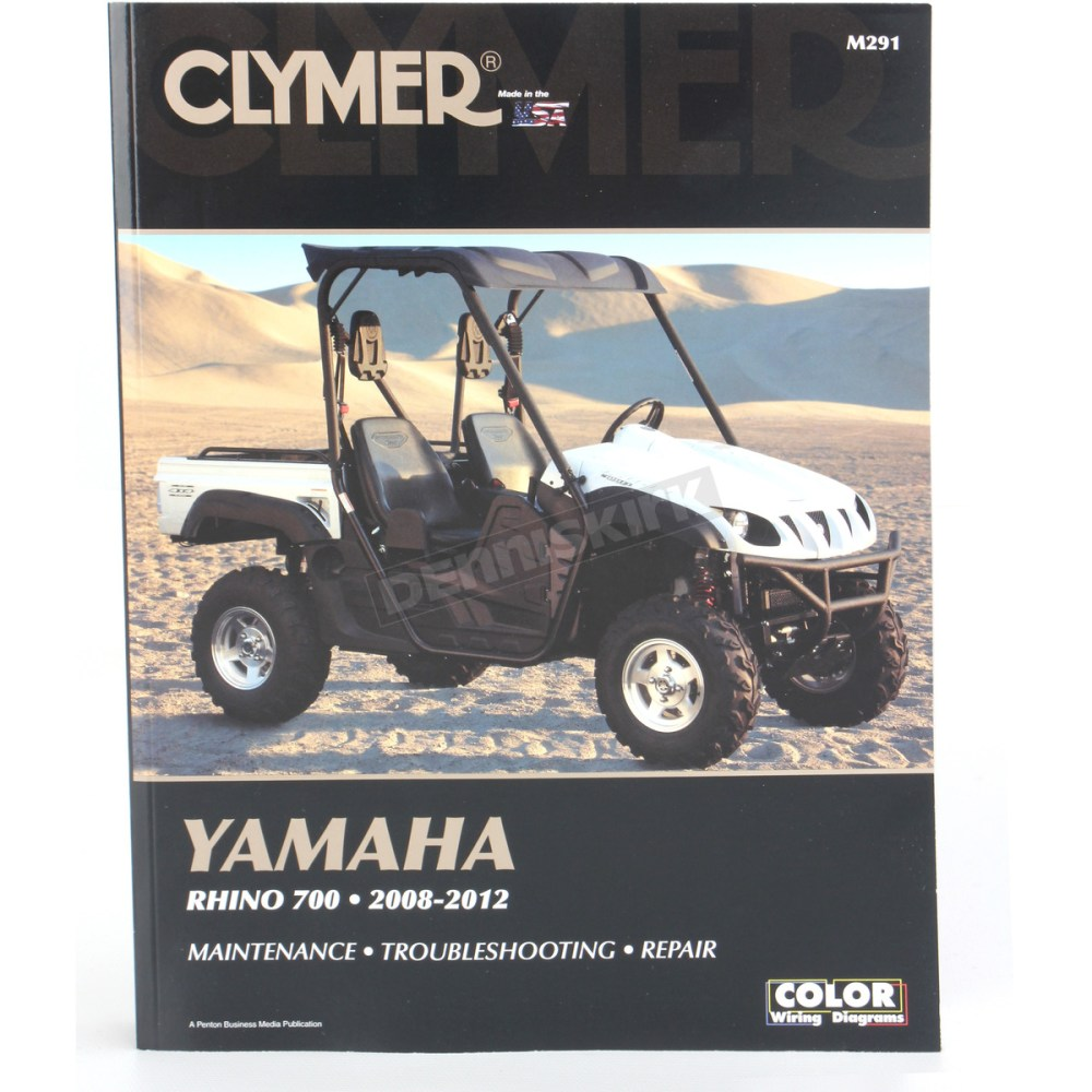 medium resolution of clymer yamaha rhino repair manual m291