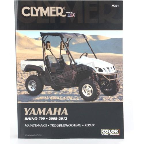 small resolution of clymer yamaha rhino repair manual m291
