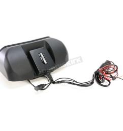 hogtunes memphis shades batwing speaker system kit msa 1 harley motorcycle dennis kirk [ 1200 x 1200 Pixel ]