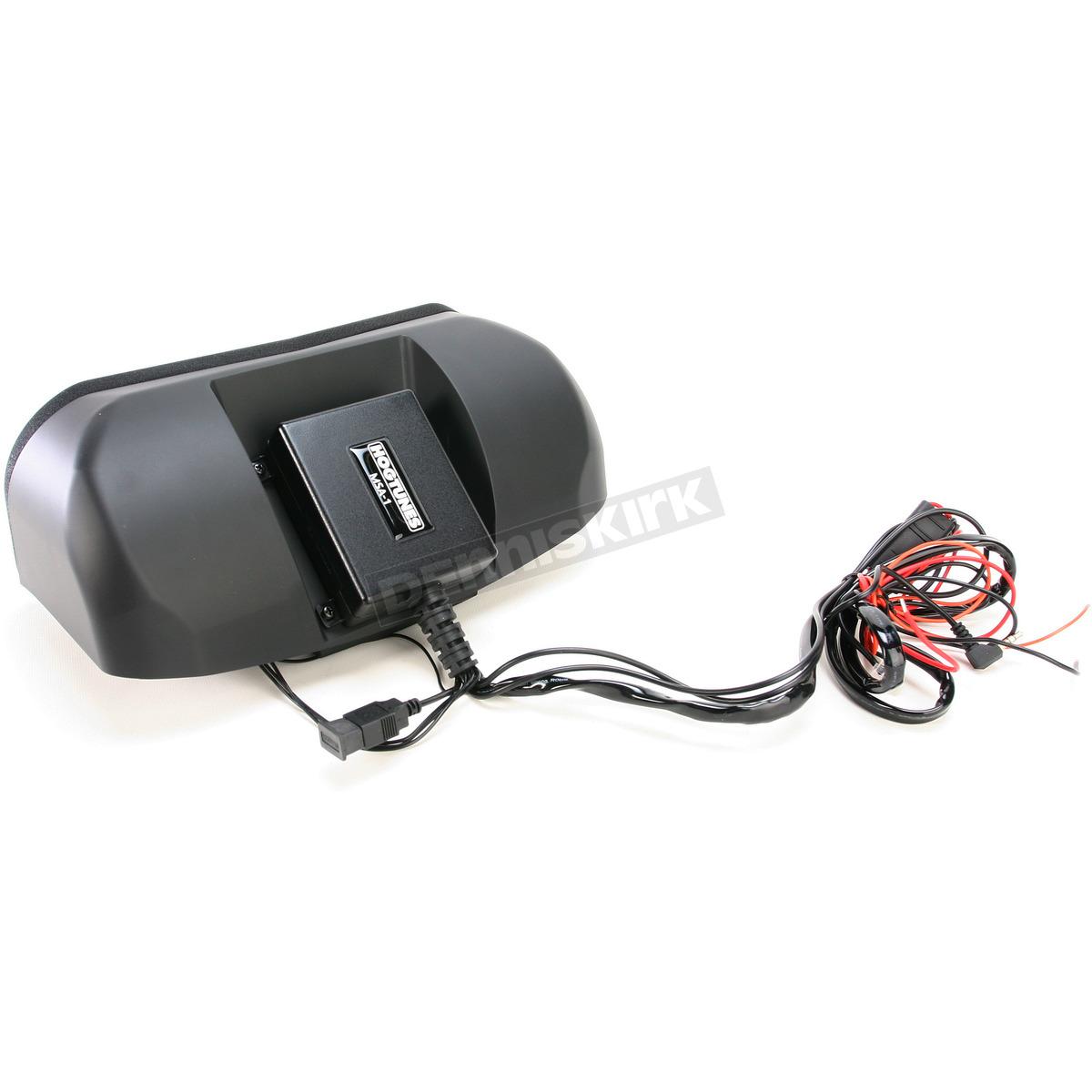 hight resolution of hogtunes memphis shades batwing speaker system kit msa 1 harley motorcycle dennis kirk