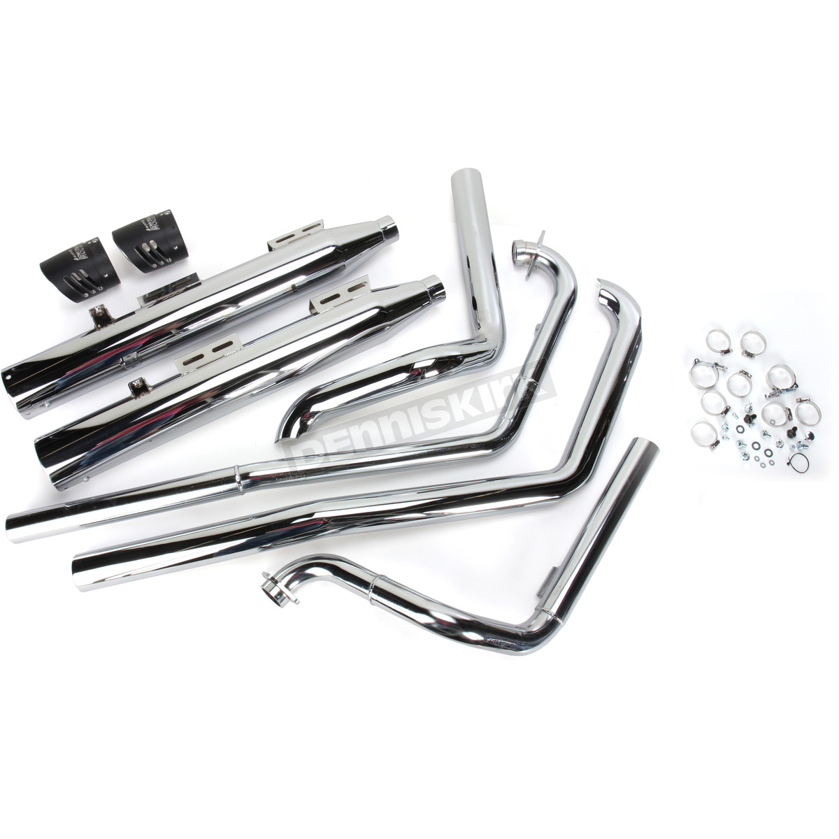 Freedom Performance Chrome True Duals Racing Exhaust