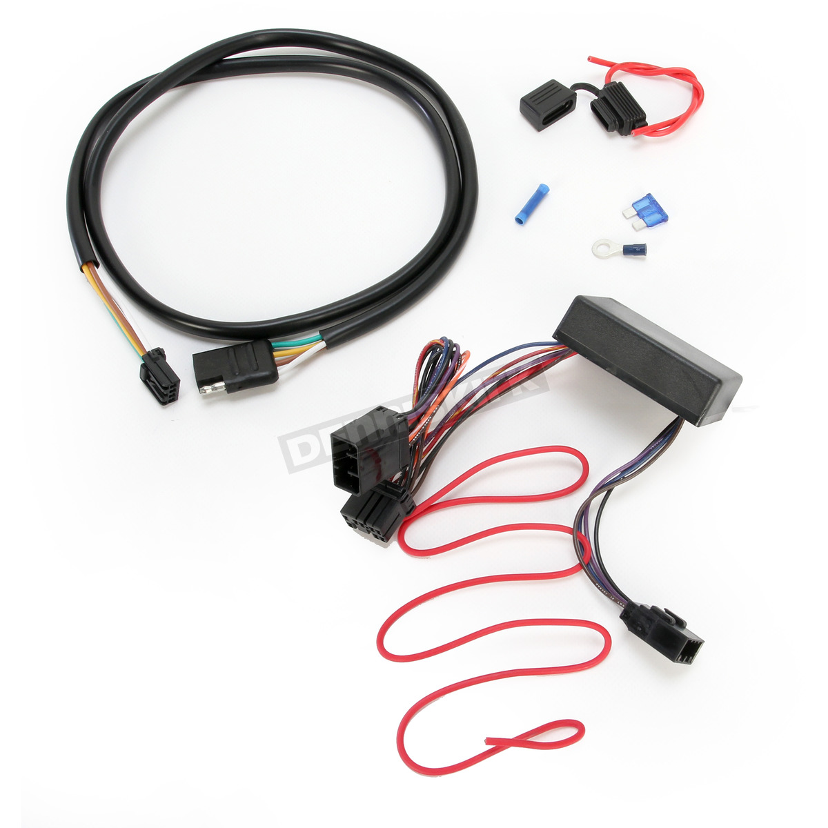 hight resolution of khrome werks plug and play trailer wiring connector kit w 4 wire harness