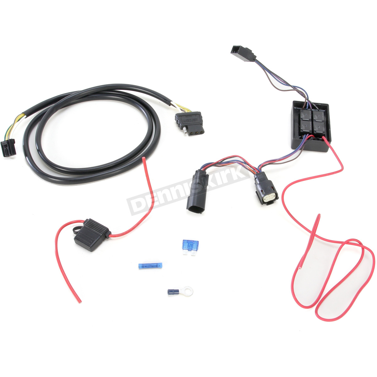 hight resolution of  plug and play trailer wiring connector kit w 4 wire harness and isolator