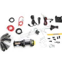 lt4000atv sr 4000lb winch with synthetic rope 1140230  [ 1200 x 1200 Pixel ]