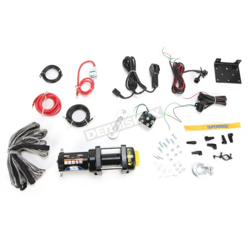 small resolution of lt4000atv sr 4000lb winch with synthetic rope 1140230