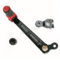 Hammerhead Designs Red Shift Lever Kit with Linkage