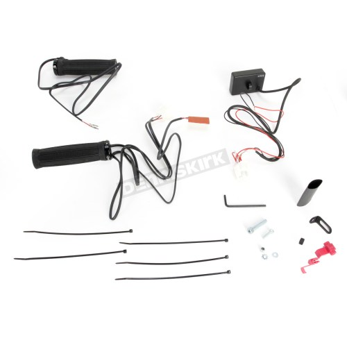 small resolution of  atv clamp on dual zone heated grips w thumb warmer 0631 0154