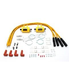 accel super coil kit w 3 ohm resistance coils 4 plug kit  [ 1200 x 1200 Pixel ]