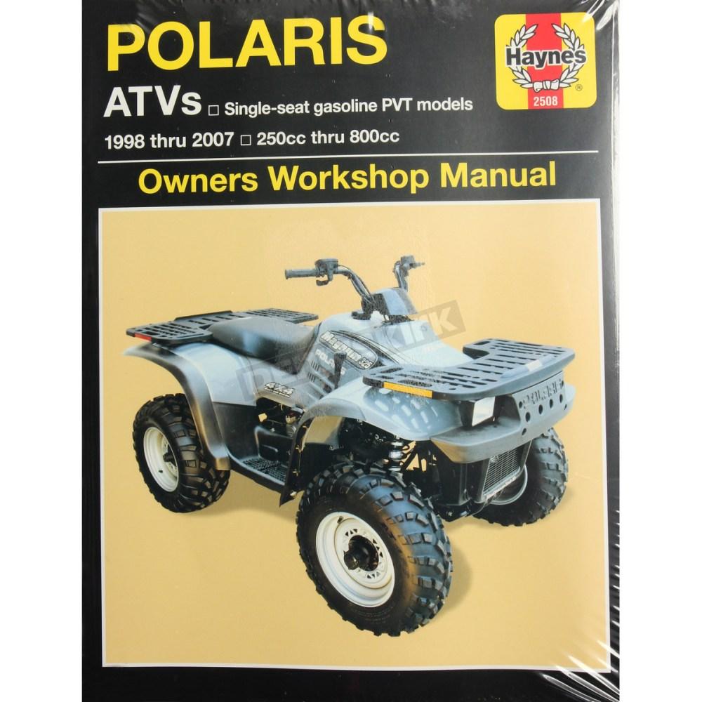 medium resolution of haynes polaris repair manual 2508