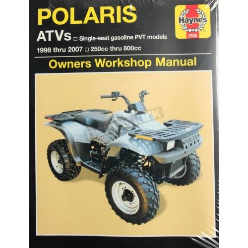 small resolution of haynes polaris repair manual 2508
