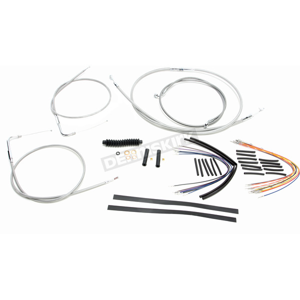 Magnum Stainless XR Handlebar Installation Kit for use w