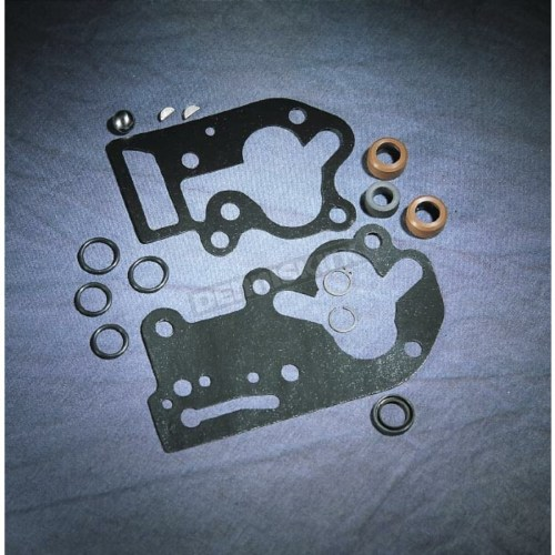 small resolution of oil pump gasket seal set with black paper gaskets 81 flh