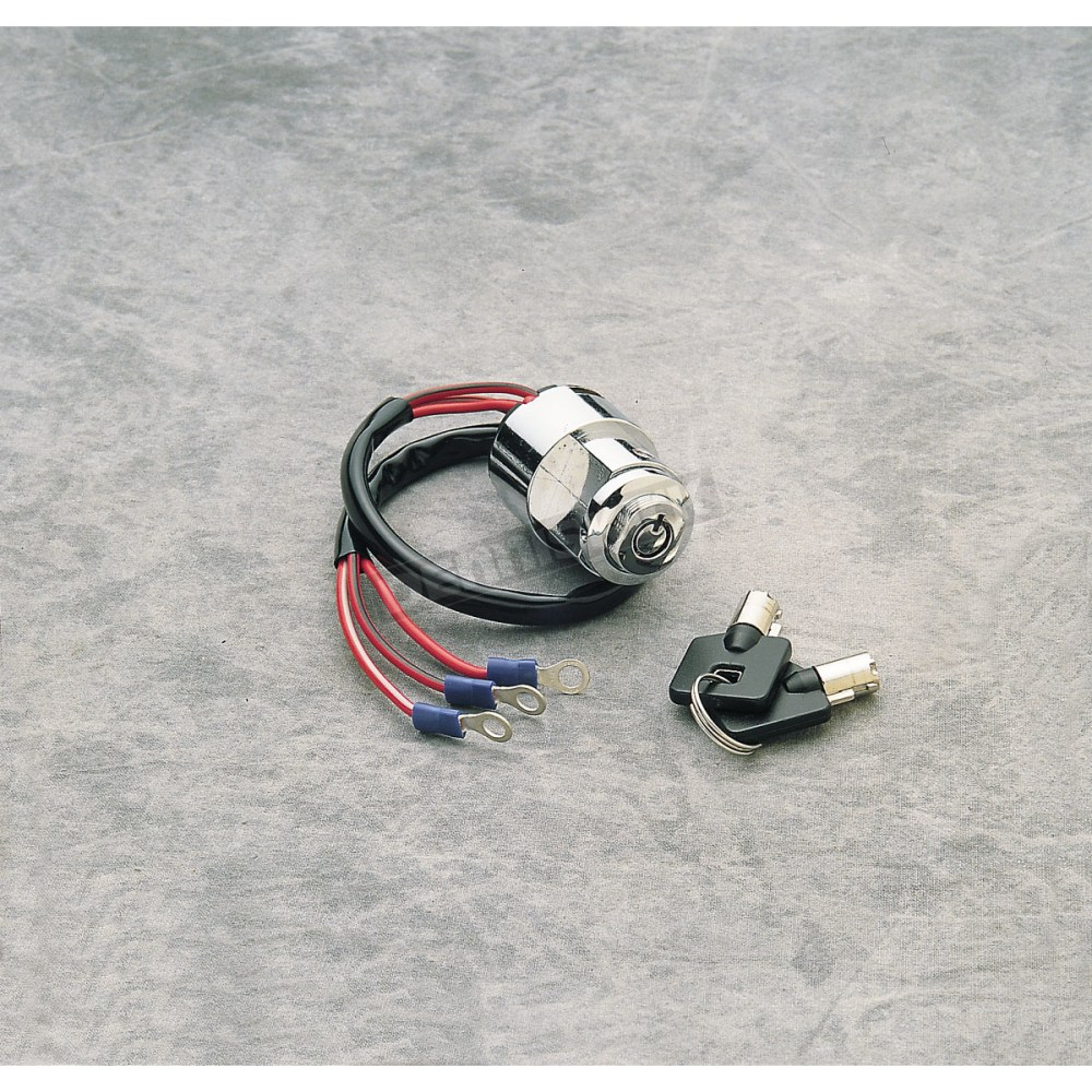 medium resolution of drag specialties custom round key ignition switch ds 272112