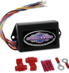 badlands run brake and turn signal module ill 01 [ 1200 x 1200 Pixel ]