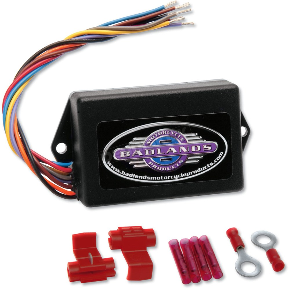 medium resolution of badlands run brake and turn signal module ill 01