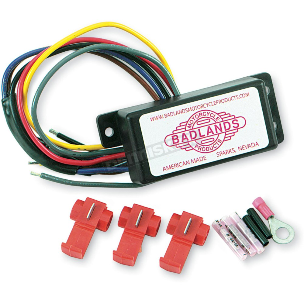 medium resolution of badlands automatic turn signal canceling module ats 03 harley 1994 softail harley davidson blinker relay