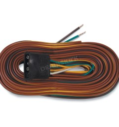 optronics inc 25ft wishbone 4 way trailer wiring harness a25wh [ 1200 x 1200 Pixel ]
