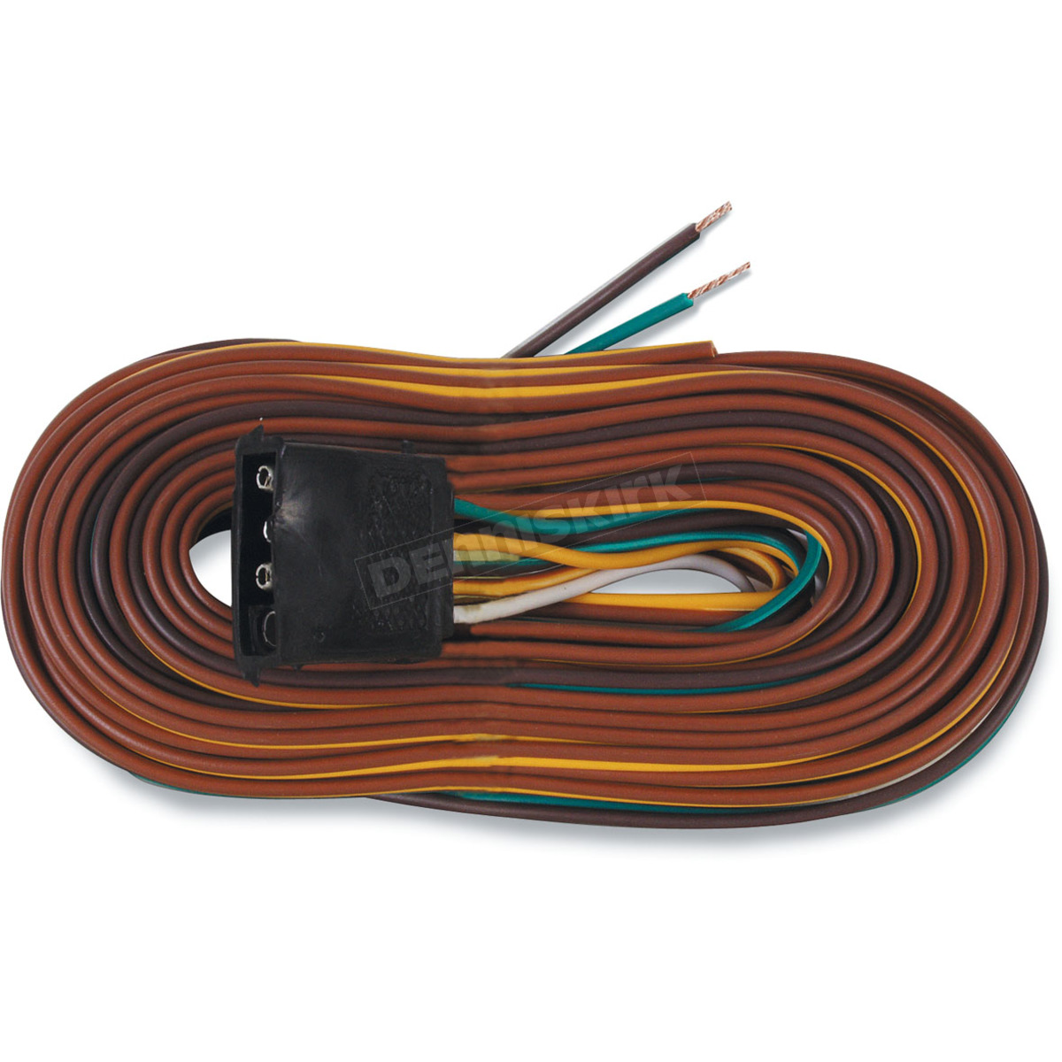 hight resolution of optronics inc 25ft wishbone 4 way trailer wiring harness a25wh