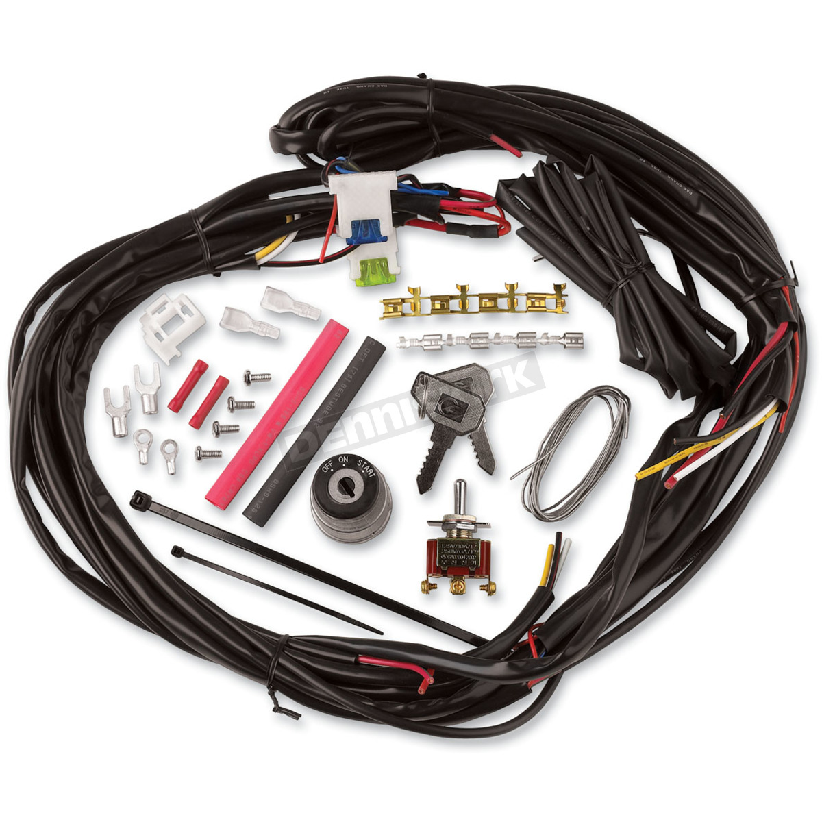 hight resolution of cycle visions custom chopper wire harness cv 4869